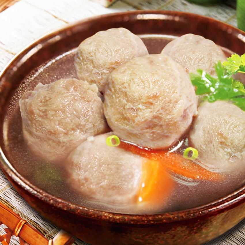 Taiwanese One Bite Duck Meatballs (19-21 pcs) 240g  #HotPot #Noodles #Springy