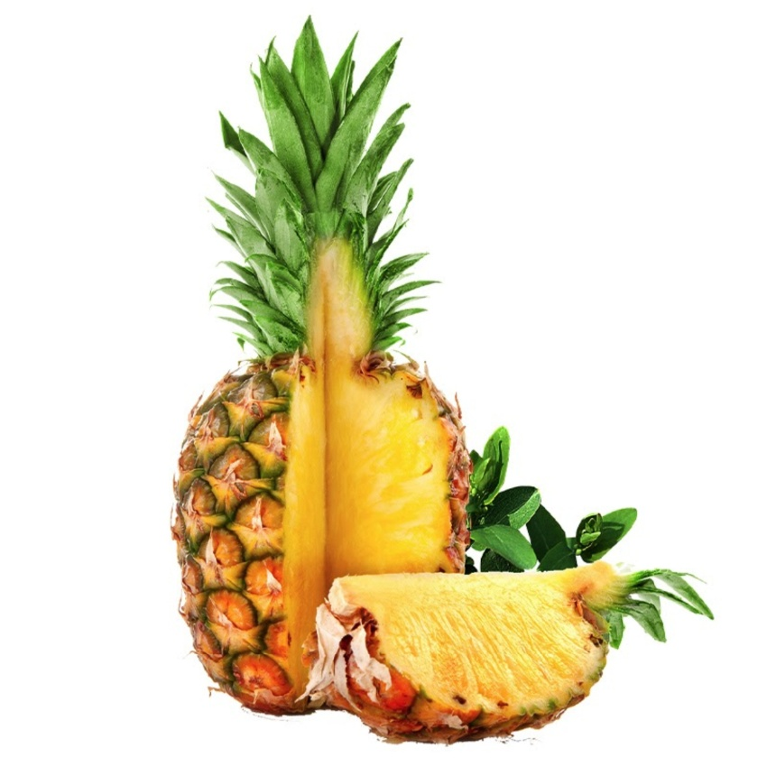 [One Box with Delivery] Taiwanese No.17 Pineapple (5-8pcs /box; 1.25kg+ /pc; total 10kg)