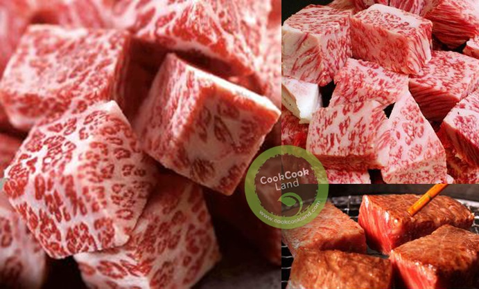 Japan Frost Drop Mouthful Size Beef Cube ~500g